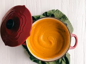 Butternut Squash and Carrot Soup | Simply Nourished Home