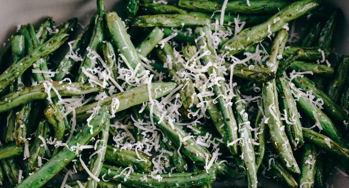 Air Fryer Green Bean | Simply Nourished Home