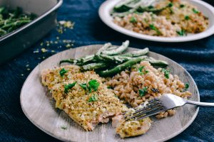 Lemon Pepper Salmon | Simply Nourished Home