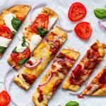 Naan Bread Pizza + 3 Topping Ideas | Simply Nourished Home