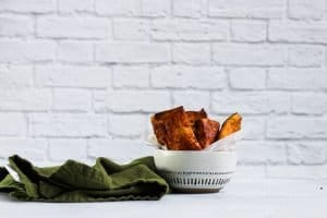 Air Fryer French Toast Sticks | Simply Nourished Home