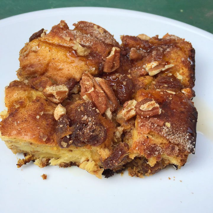 Baked Butternut Squash French Toast  | Amy Gorin Nutrition